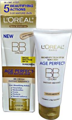 L,Oreal Paris Age Perfect Bb Cream Spf 20 Light Medium