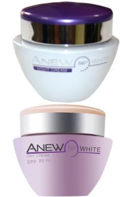Avon Anew Illuminating Night Cream (30g) & Protective Cream SPF 20PA++ (30g)