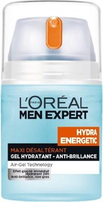 L,Oreal Paris Men Experts Hydra Energetic Maxi Desalterant Gel Anti -Brillance