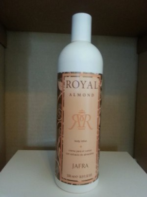 Jafra Royal Almond Body Lotion fl. Bonus Size