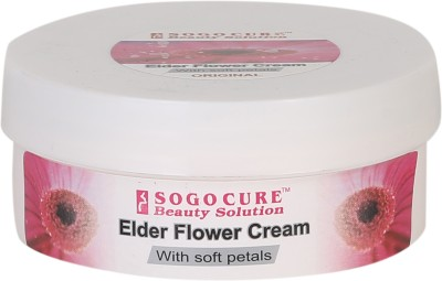 Sogo Cure Elder Flower Cream With Soft Petals