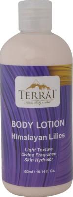 Terrai Himalayan Lillies Rehydrating Body Lotion