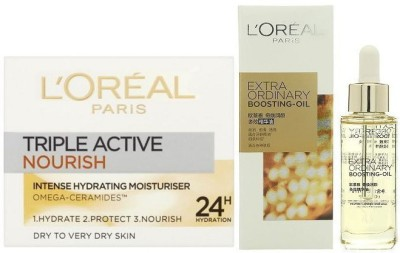 L,Oreal Paris Triple Active Nourish + Extra Ordinary Boosting-Oil