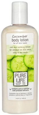 Pure Life Body Lotion Cucumber