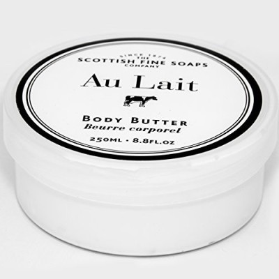 The Scottish Fine Soaps Company Scottish Fine Soaps Au Lait Extra Nourishing Body Butter - Jar