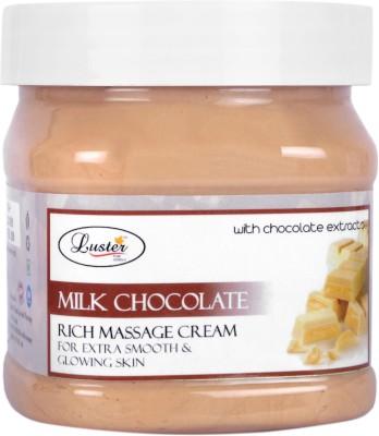 Luster Milk Chocolate Rich Massage Cream