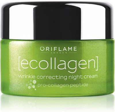 Oriflame Sweden Ecollagen Wrinkle Correcting Night Cream