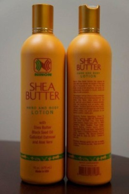 Ninon shea butter hand and body lotion skin moisturizer by