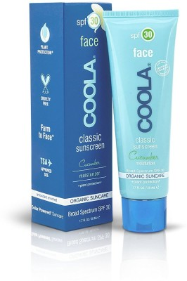 Coola Suncare Cucumber Face Moisturizing Sunscreen