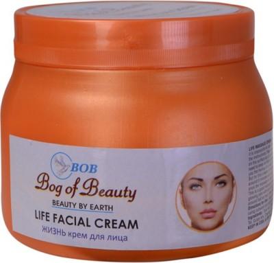 Bog Of Beauty Sha Life Facial Massage Cream