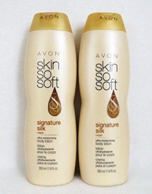 Avon Lot Of 2 Sss Skin So Soft Signature Silk Ultra Moisturizing Body Lotion