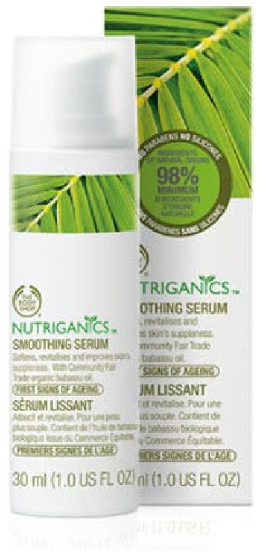 The Body Shop Nutriganics Smoothing Serum(30 ml)