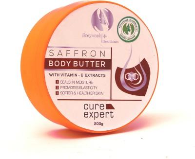 Sreyansh Healthcare Saffron Body Butter with Vit E Extracts