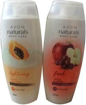 Avon Naturals Body Care hand & body lotion