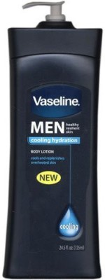 Vaseline Mens Cooling Hydration Body Lotion Bottle(725 ml)