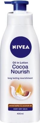 Nivea Oil in Lotion Cocoa Nourish(400 ml)