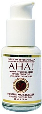 Nonie Of Beverly Hills Aha! Protein Moisturizer All Natural.