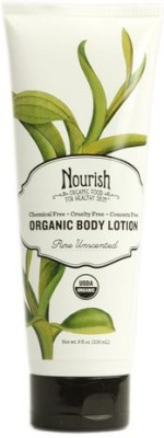 Nourish Organic Body Lotion Pure Unscented