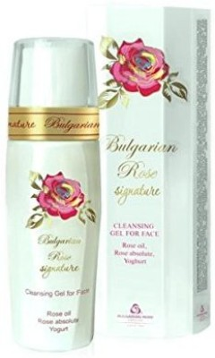 Bulgarian Rose Signature natural rose cleansing gel for face