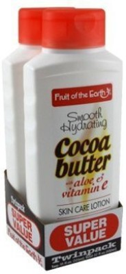 Fruit of the Earth Bogo Lotion Cocoa Butter With Aloe & Vitamin-E