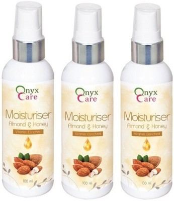 Onyx Care Almond & Honey Moisturiser (Set of 3)