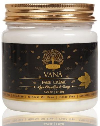 VANA VIDHI Black Tea & Fennel Face Cream(150 g)