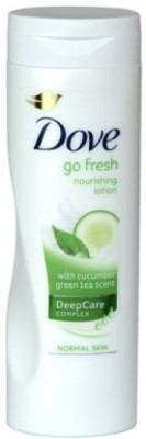 Dove Go Fresh Nourishing Lotion ( Cucumber Green Tea Scent) Imported