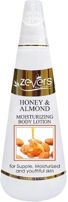 Zever's Honey and Almond moisturising body lotion ( 400ml)