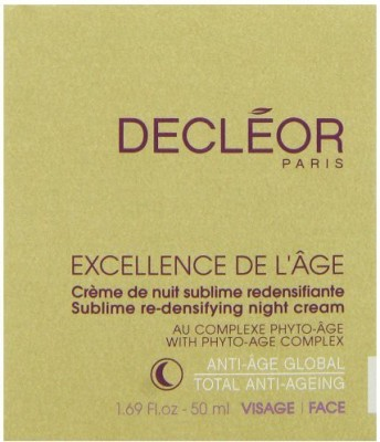 Decleor Excellence De L,age Sublime Re-Densifying Night Cream for Unisex