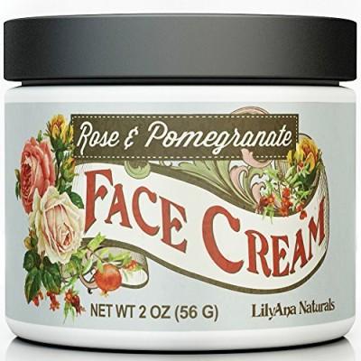 LilyAna Naturals Face Cream Moisturizer 95% Natural