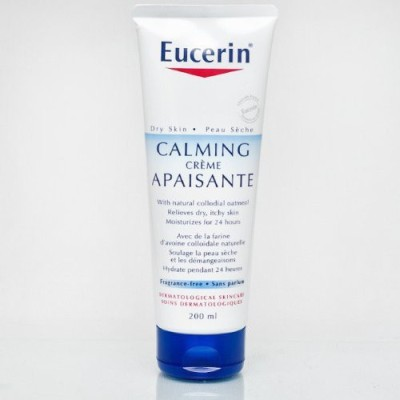 Eucerin Calming Creme For Dry Skin Fragrance Free