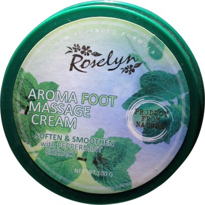 Roselyn Aroma Foot Massage Cream(Peppermint)