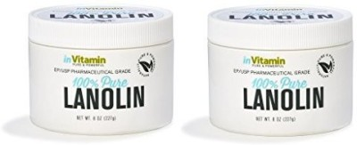 inVitamin EP / USP Pharmaceutical Grade Lanolin. 2 x containers (Prime)