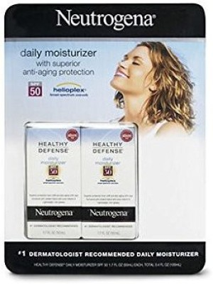 Neutrogena Healthy Defense Daily Moisturizer Helioplex, Fl. , 2-pk