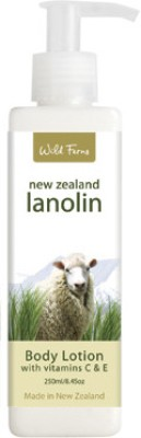 Wild Ferns Lanolin Body Lotion with Vitamin C & E