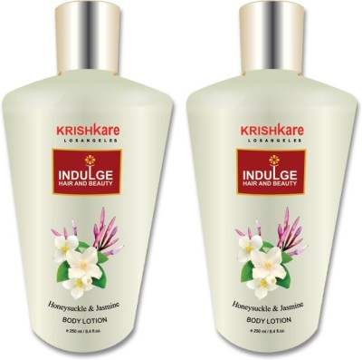 Krishkare Honeysuckle and Jasmine Body Lotion