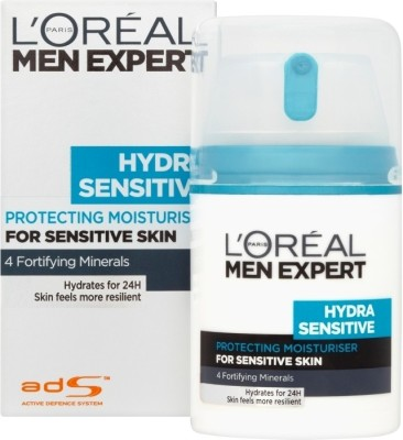 L ,Oreal Paris Men Expert Hydra Sensitive Moisturising Cream