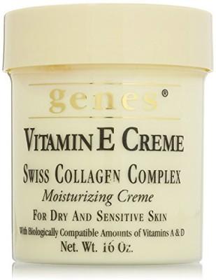 Genes vitamin e creme for dry and sensitive skin