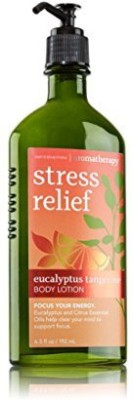 Bath & Body Works Aromatherapy Stress Relief Eucalyptus Tangerine Body Lotion