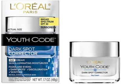 L,Oreal Paris Youth Code Dark Spot Corrector Day Moi SPF 30