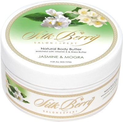 Silk Berry Jasmine and Mogra Body Butter