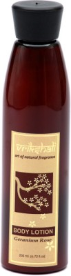 Vrikshali Body Lotion Geranium Rose