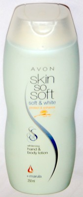 Avon Skin So Soft Whitening hand and body lotion