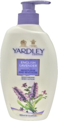 Yardley London English Lavender Revitalise Moisturising Body Lotion