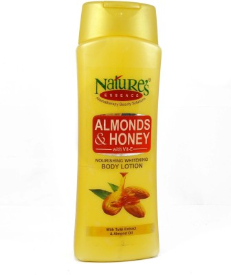 Nature's Essence Almonds & Honey Nourishing Whitening Body Lotion