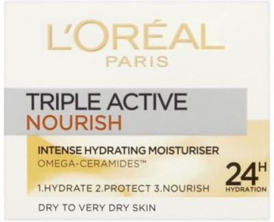 L,Oreal Paris triple active nourish intense hydrating moisturiser