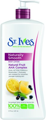 St.ives Naturally Smooth Body Lotion Dual Action Formula