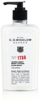 C. O. Bigelow Elixir White Ultra-Light Body Lotion