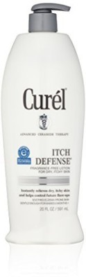 Curel Itch Defense Lotion, Fragrance Free