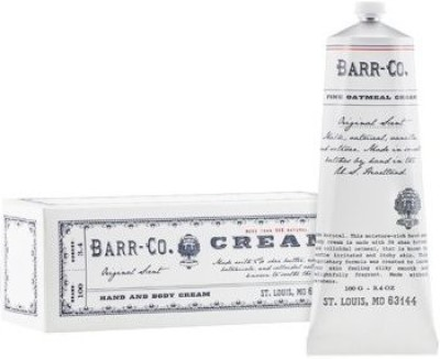Barr Co Fine Oatmeal Cream in a Tube